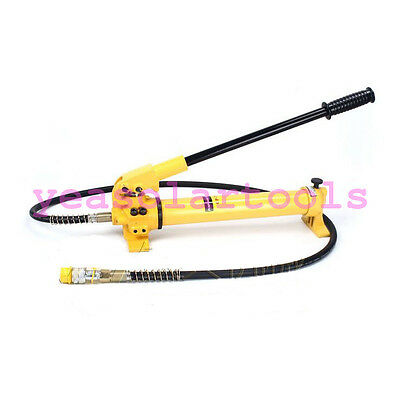 Portable Hydraulic Hand Pump with Single-acting single circuit 70mpa 700kg/cm2