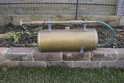 Collectable Rega Brass Garden Weed Sprayer Old Tool