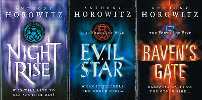 The Power of Five by Anthony Horowitz First Three Books! VGC