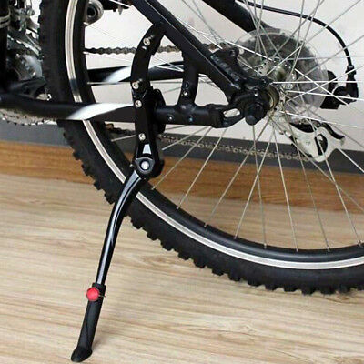 1pc Road Bike Side Kickstand Bicycle Adjustable Alloy Stand Side Kick