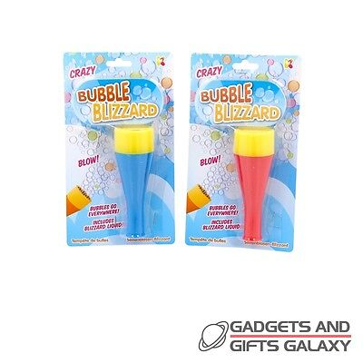 CRAZY BLOWING BUBBLE BLIZZARD OUTDOOR FUN KIDS TOY Gifts games & gadgets
