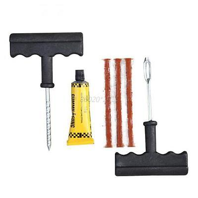 Emergent Motorcycle Auto Car Tubeless Tyre Puncture Repair Kit Tire Plug Tools