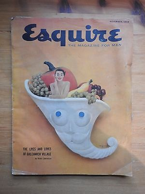 Esquire Magazine - November 1954 - Jane Russell pull-out