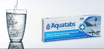 Aquatabs 100 water purification tablets treatment best bargain most effective