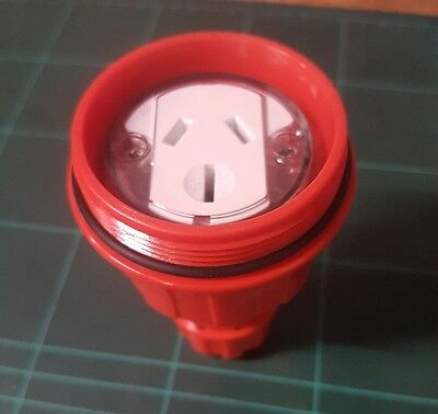 Powersafe PSSKT 15/1 3 pin 15A 250v AC socket