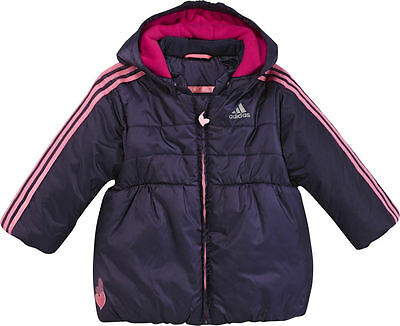Adidas IJ Adigirl Jacket- Adidas Infants Baby Girls Jacket. Adidas Baby Jacket