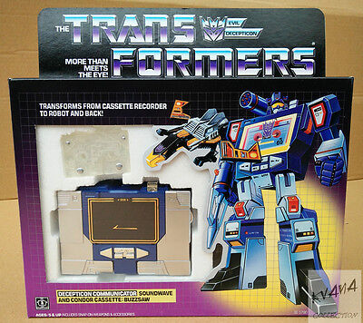 Transformers Reissue G1 『SOUNDWAVE』with SLUGFEST MISB