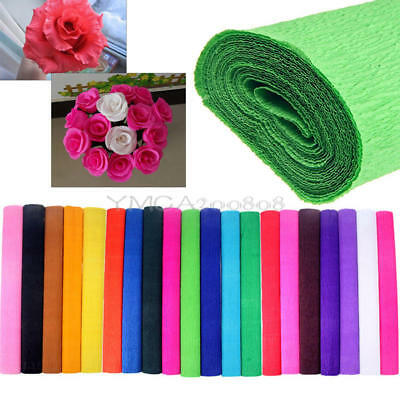 Crepe Paper Streamer Roll Wedding Party Supplies Children Handmade Gifts Wrap