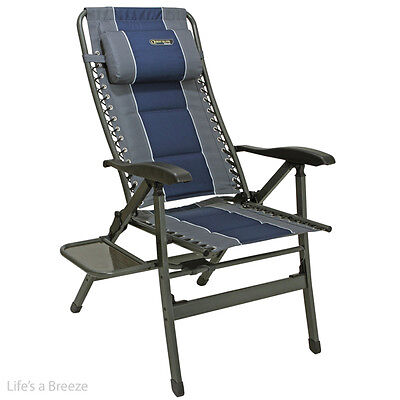 Chair. Ragley pro Comfort Blue with Table. Great for Camping,Caravan,motorhomes