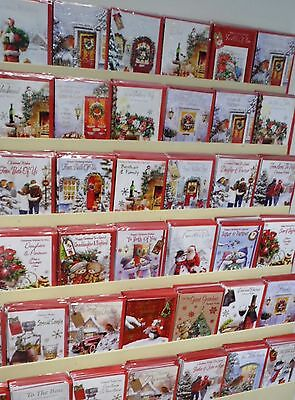 CHRISTMAS 600 CARD PACKAGE DEAL,JUST 25p, 100 designs,RELATIONS -GENERAL,WRAPPED