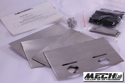 TOMEI universal stainless steel oil pan BAFFLE B16a D16z6 B18 H22 ca18det VQ3