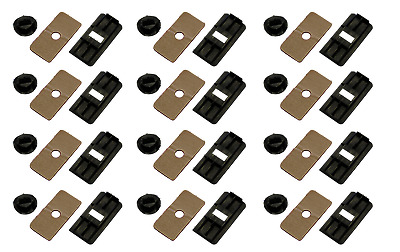 Aunger Louvre Fitting Kit Rear Louvre Mounting Clips set of 12