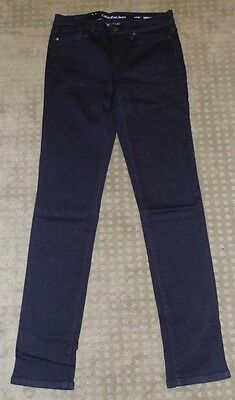New Ladies' Calvin Klein Jeans Power Stretch Ultimate Skinny Jeans 4 X 30 BLUE