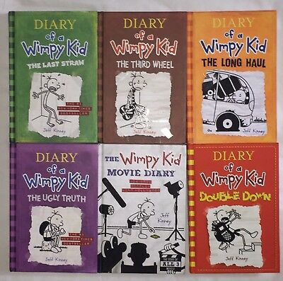 Diary of a Wimpy Kid 6  lot/set hardcover books New Condition