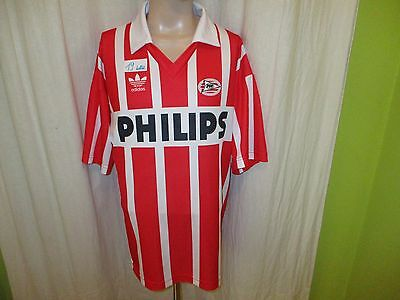 "PSV Eindhoven Original Adidas Trikot 1990-1992 ""PHILIPS"" Gr.XL TOP"