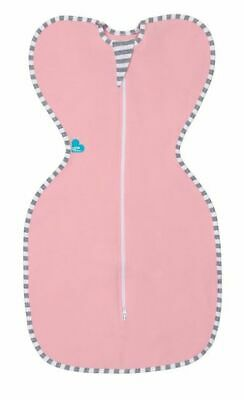 Love to Dream Original Zip Up Baby Swaddle Pink Medium 6 - 8.5 Kg Free Shipping