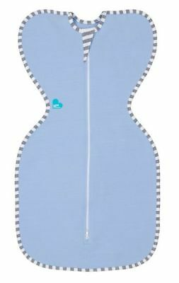Love to Dream Swaddle Up Original 1.0 Tog  Blue Large 8.5 - 11 Kg Zip Up Swaddle
