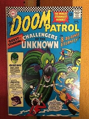 Doom Patrol #102 March 1966 Comic Books Challengers of the Unknown FREE SHIPPING