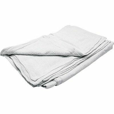 Allstar Performance 12012 White Cloth Shop Towels 12pc