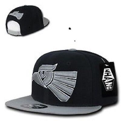 Black   Gray Mexican Hecho En Mexico Eagle Aguila Embroidered Snapback Hat  Cap b74bfe0939c