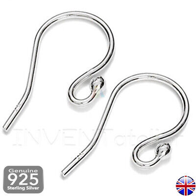 925 STERLING SILVER EARRING FISH HOOKS WIRES EARWIRES  Findings