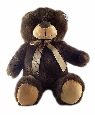 Soft Teddy Bear - Dark Brown - 45 cm