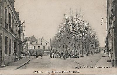 Onzain   Grand  Rue  Et  Place  De  L ' Eglise