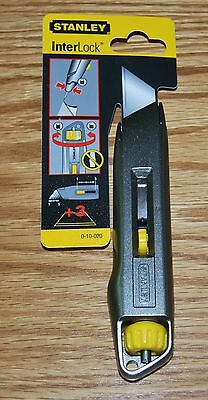 Stanley Interlock Knife - Retractable Blade 0-10-020. No Blades Included - Cheap