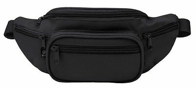 BRANDIT Marsupio Borsello uomo donna waistbeltbag Hip bag Black