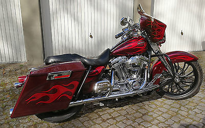 "Harley Road King 21"" CVO Screamin Eagle FLHRSEI Custom Bagger Street Glide"