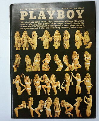 Playboy Magazine March 1973 Bonnie Large Very Good Collectible