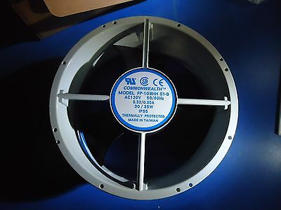 "Commonwealth 10"" Fan FP-108HH S1-B AC 120V 50/60HZ New In Box Grey"