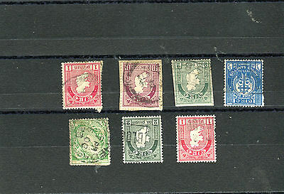 lot timbres anciens Irlande Eire