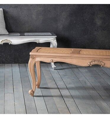 French Solid Wood, Chic Bench, Bed End, Stool, Seat (Hand Painted ~ Any Colour)
