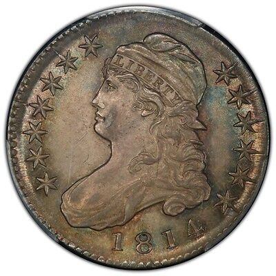 1814 50C Capped Bust Half Dollar PCGS MS65