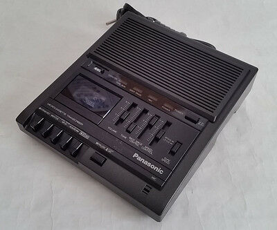 Panasonic RR-930 Transcriber Microcassette Recorder Player (No Pedal) - Tested