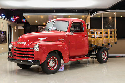 1951 Chevrolet Other Pickups  Frame Off Restored, Stake Bed Pickup! GM 235ci I6, Muncie SM420 4-Speed & More!