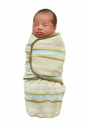 Summer Infant Swaddleme 100% Cotton Small - Green Stripe