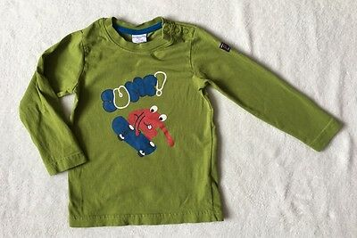 ***Polarn o pyret baby boys Lime top t shirt 18-24 months (1,5-2 y) EXCELLENT**