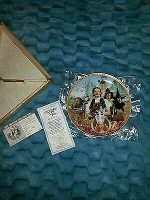 Wizard of Oz collector plate