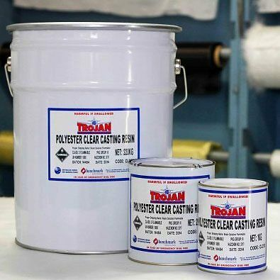 POLYESTER Clear Casting Resin 20kg + Catalyst