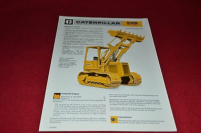 Caterpillar 931B LGP Track Type Crawler Loader Dealer's Brochure DCPA8