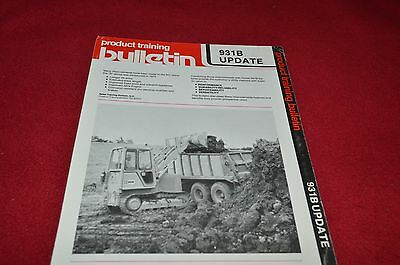 Caterpillar 931B Track Type Crawler Loader Update Dealer's Brochure DCPA8