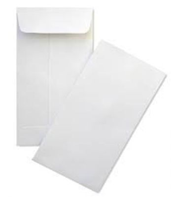#7 Coin White Envelope for Small Parts Cash Jewelry Etc. 100 per Pack