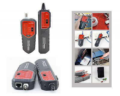 Professional Network Cable Tester Telephone Wire Tracker Detector Line Finder