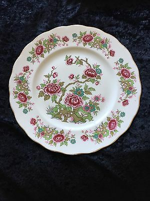 Queen Anne Bone china Chinese Tree Plate