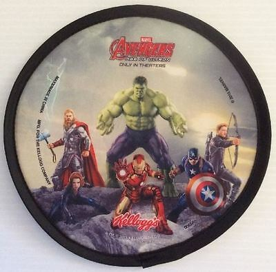 """2015 Kellogg's Avengers - """"Age of Ultron"""" - Flying Disc Collectible **NEW**"""