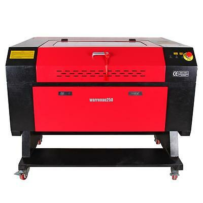 60W CO2 USB Port Laser Engraving Cutter Machine Engraver 700x500mm USED