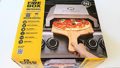 Brand New Portable PIZZA OVEN / MAKER to use with Charcoal / Gas BBQ - FIREBOX