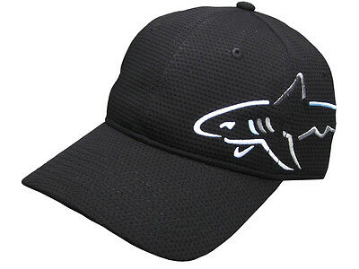 Greg Norman Shark Wrap A-Flex Cap - Black